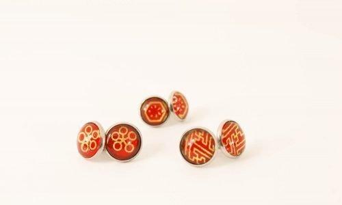 washi paper jewellery