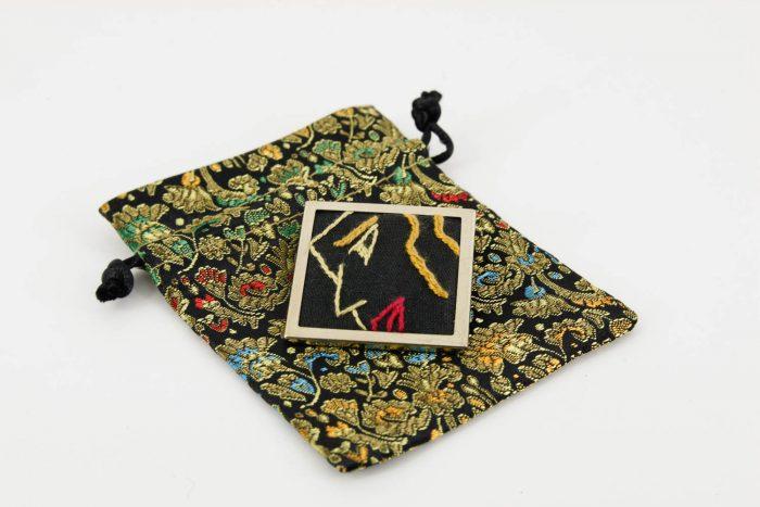 modern-woman brooch
