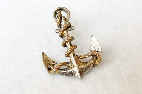 anchor pin brooch