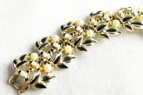 black jewelcraft pearl bracelet