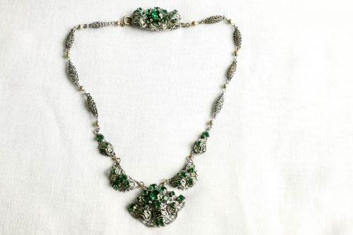 West German filigree necklace